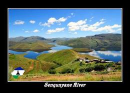 Lesotho Senqunyane River New Postcard - Lesotho