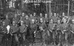 Militaria - Armée Suisse - Schweizer Armee - GrenzBesetzung 1914 - Occupation Des Frontières - Bottmingen - BL Bâle-Campagne