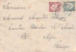 PORTUGAL - LETTER 1931 > St. ANDRES, ALPES /GA5 - Covers & Documents