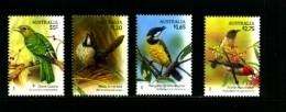 AUSTRALIA - 2009  SONG  BIRDS  SET  MINT NH - Nuevos