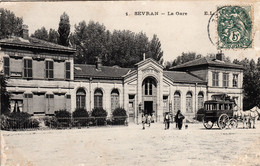 Thematiques 93 Seine Saint Denis Sevran La Gare Timbre Cachet - Sevran