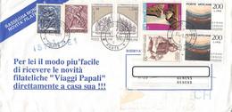 VATICAN - LETTER 1991 > SUISSE /GA6 - Briefe U. Dokumente