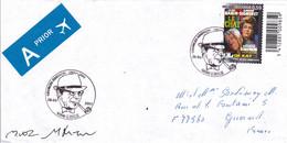 B01-224 FDC COB 3168 - Simenon Prior 4000 Liège Signée Dédicacée - 2001-10