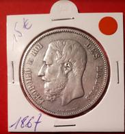 5 Frank 1867 - 09. 5 Franchi