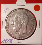 5 Frank 1868 - 09. 5 Franchi