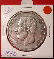 5 Frank 1870 - 09. 5 Franchi