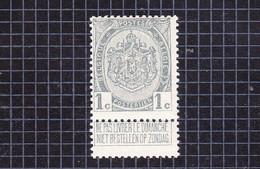1907 Nr 81* Postfris Met Scharnier.Wapenschild Van 1893 - 1893-1907 Coat Of Arms