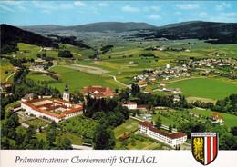 2 AK Oberösterreich * Blick Auf Den Ort Aigen-Schlägl Im Vordergrund Stift Schlägl - 1218 Gegründet - 2 Luftbildafnahmen - Autres