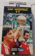 VHS Coppa Intercontinentale 1985: Juve-Argentinos #Supercoppa 1985 Juventus Liverpool - Logos 1996 # 60 Minuti - Sports