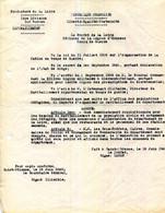 42.LOIRE SAINT ETIENNE.SAINT BONNET LE CHATEAU.2 DOCUMENTS REQUISITION. 1940. - Andere