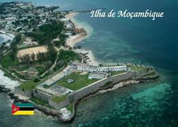 Mozambique Island Fortress Aerial View UNESCO New Postcard Mosambik AK - Mosambik