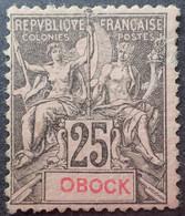DF50500/1234 - COLONIES FR. - OBOCK - N°39 NEUF* Défectueux - Cote (2020) : 30,00 € - Ungebraucht