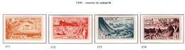 Ex Colonie Française * Maroc  Postes 271/274 Qualité Luxe N** - Nuevos
