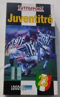 VHS - Juventitrè 23 Scudetto Juventus # Logos, Tuttosport 1995 - Sports