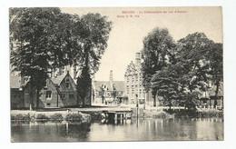 Brugge Le Débarcadère Du Lac D' Amour Bruges 1909 - Brugge