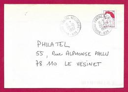 Enveloppe Moderne Datée De 1992 - Bureau Postal Militaire N° 635 - Militaire Stempels Vanaf 1900 (buiten De Oorlog)