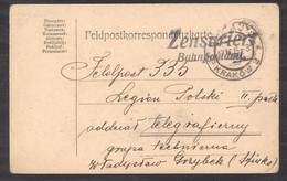 L  173  -  Pologne  :   Carte De La Légion Polonaise Avec Censure - Briefe U. Dokumente