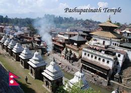 Nepal Pashupatinath Temple UNESCO New Postcard - Nepal