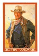 JOHN WAYNE, From Original Painting By Everett Kinster, Nat. Cowboy Hall Of Fame, Older 4x6 Chrome Postcard - Künstler
