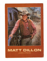 MATT DILLON (JAMES ARNESS), From Original Painting By John Sander, Nat. Cowboy Hall Of Fame, Older 4x6 Chrome Postcard - Künstler