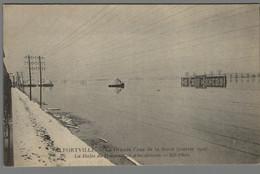 CPA 94 - Alfortville - La Grande Crue De La Seine - Janvier 1910 - La Halte De Pompadour à La Décrue - Alfortville