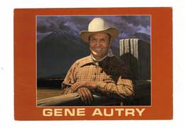 GENE AUTRY, From Original Painting By Robert Rishell, Nat. Cowboy Hall Of Fame, Older 4x6 Chrome Postcard - Künstler