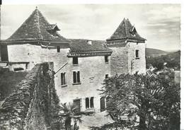 SAINT-CIRQ-LAPOPIE     ( LOT )    CHATEAU - Saint-Cirq-Lapopie