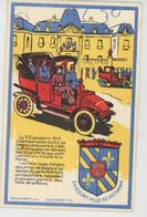 """GUERRE 1914-18 - Jolie Carte Fantaisie """"SOUVENIR DES TAXIS DE LA MARNE - 40ème Anniversaire - GAGNY 1954(cachet Au Dos ) - Weltkrieg 1914-18"""