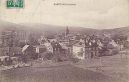 CPA 12 Aveyron Marcillac Vue Générale - Andere Gemeenten