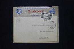 MAROC - Enveloppe Commerciale De Casablanca En 1927 Pour Paris - L 79871 - Lettres & Documents