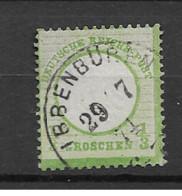 1872 USED German Empire Mi 17 - Used Stamps