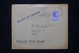 LUXEMBOURG - Enveloppe Commerciale De Luxembourg Pour La France En 1961 - L 79882 - Briefe U. Dokumente