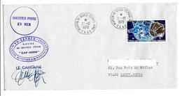 FSAT TAAF Cap Horn Sapmer 27.10.78 SPA T. 2.70 Satellites (3) - Covers & Documents