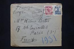 POLOGNE - Enveloppe De Pinsk Pour La France - L 79884 - Briefe U. Dokumente