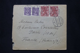 POLOGNE - Enveloppe De Pinsk Pour La France En 1933  - L 79885 - Briefe U. Dokumente