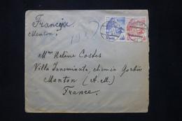 POLOGNE - Enveloppe De Pinsk Pour La France En 1938  - L 79886 - Briefe U. Dokumente