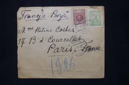 POLOGNE - Enveloppe De Pinsk Pour La France En 1926  - L 79887 - Briefe U. Dokumente