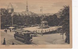 Carte Postale. ESSEN Bürgplatz, Tramway - Essen