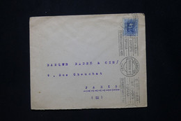 ESPAGNE - Enveloppe De Zaragoza Pour La France En 1930 - L 79892 - Briefe U. Dokumente