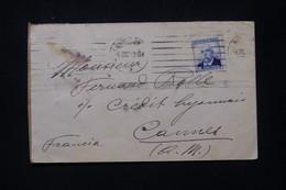 ESPAGNE - Enveloppe De Barcelone Pour La France En 1926 - L 79894 - Cartas