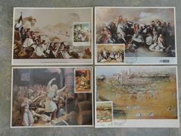 CARTE MAXIMUM CARD 4 CM FRESQUES GRECQUES GRECE - Zonder Classificatie