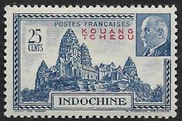 KOUANG TCHEOU  1941 -   Y&T  139  - Pétain -  NEUF * - Ungebraucht