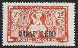 KOUANG TCHEOU  1942 -   Y&T  155  - Apsara -  NEUF * - Ungebraucht