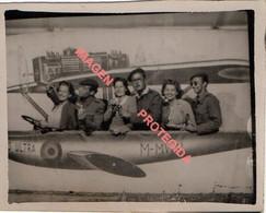 PHOTO - MONTAGE - AVION PLUS ULTRA, 90X70mm - Aviation