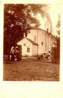 COMUNA PRAJESTI / BACAU : BISERICA ROMANO-CATOLICA - CARTE VRAIE PHOTO / REAL PHOTO POSTCARD ~ 1913 - RRR !!! (ag060) - Rumania