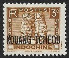 KOUANG TCHEOU  1941 -   Y&T  125  - Angkor -  NEUF * - Ungebraucht