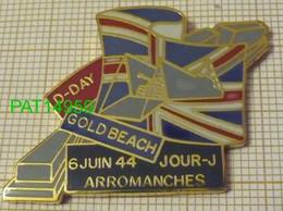 ARROMANCHES GOLD BEACH D DAY 6 JUIN 44 DEBARQUEMENT DE NORMANDIE - Army