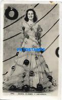 148247 ARTIST DIANA DURBIN US ACTRESS CINEMA MOVIE PHOTO NO POSTAL POSTCARD - Entertainers
