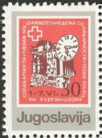 Yougoslavie  Nobel Red Cross Croix Rouge MNH - Prix Nobel