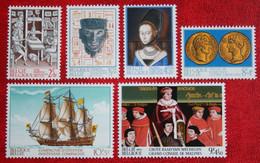 Série Historique Geschiedenis Mechelen Boat  N° 1677-1682 (Mi 1729-1734) 1973 POSTFRIS MNH ** BELGIE BELGIEN / BELGIUM - Unused Stamps